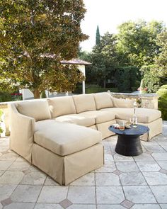 Harrison+Outdoor+Sectional+by+Lane+Venture+at+Horchow.