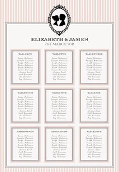 Knots And Kisses Wedding Stationery: Introducing Blush Pink & Black Vintage Cameo Wedding Stationery Collection - Weddbook