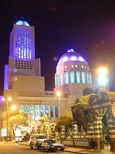 The Principal Catedral......night