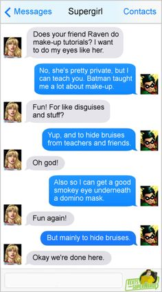 Texts From Superheroes: Photo Marvel Funny, Marvel Memes, Funny Comics, Superhero Texts, Superhero Characters, Dc Comics Superheroes, Marvel Dc Comics, Dark Comics, Text Memes