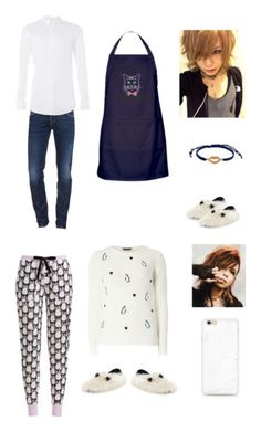 """""""Amada Haruka"""" by captainsecretfire ❤ liked on Polyvore featuring Dsquared2, Topman, Fendi, Cachet, men's fashion, menswear and Dorothy Perkins"""