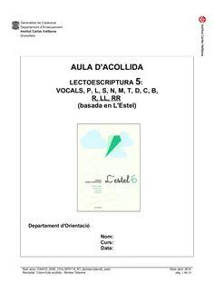 Caaco dos 1314_mt0114_r1_lectoescriptura5_estel by mtalaverxtec via slideshare