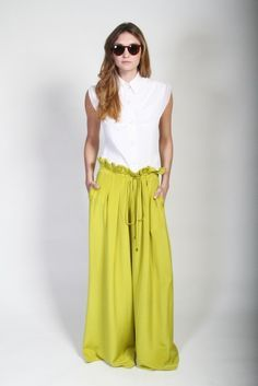 4b01d3effd8b Image result for christian siriano Crepe Drawstring Wide Leg Pant Spring  Wear