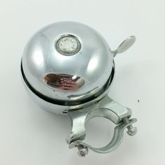 Vintage Bee Brand Chrome Revolving Bike Bell Bicycle Scooter #BeeBrand