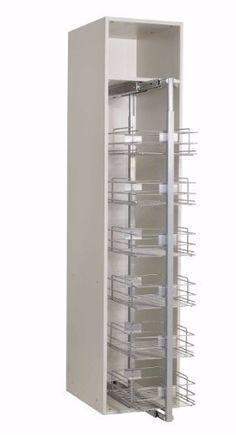 Columna Extraíble 400mm C/canastos Hafele - Herrajes Cima Fj - $ 8.257,61 en Mercado Libre