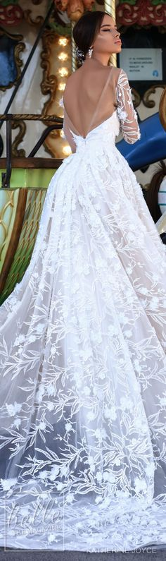 Wedding Dresses: Illustration Description Ball gown Wedding Dress by Katherine Joyce – Ma Cheri Bridal Collection -Read More – Dresses Elegant, Stunning Wedding Dresses, Wedding Dresses 2018, Beautiful Gowns, Bridal Dresses, Bridesmaid Dresses, Wedding Bride, Gown Wedding, Bridal Collection