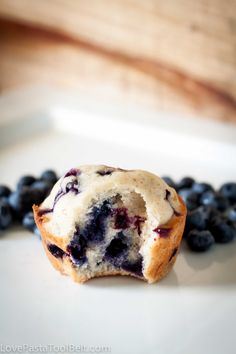 Blueberry Banana Muffins are the perfect on the go breakfast or snack recipe! | recipes | breakfast | snacks | blueberry | banana |