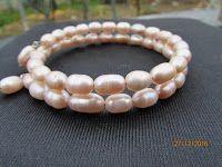IL GIOIELLO PAZZO : Bracciale perle di fiume con filo armonico