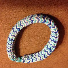 Noah's Cool Hexafish Rainbow Loom Bracelet ~ by Lisa