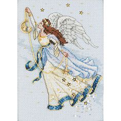 DIMENSIONS-The Gold Collection Petite: Counted Cross Stitch Kit. Gorgeous images; phenomenal detail and the highest quality of materials available go into every Gold Collection kit by Dimensions. Each