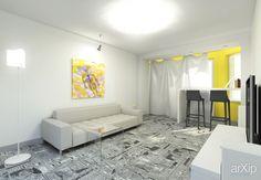 Квартира в новостройке на ул. Седова: архитектура, интерьер, 1 эт | 3м, жилье, модернизм, 0 - 100 м2, фасад - кирпич, здание, строение, квартира, дом, гостиная, современный, модернизм, 80 - 100 м2 #architecture #interiordesign #1fl_3m #housing #modernism #0_100m2 #facade_brick #highrisebuilding #structure #apartment #house #livingroom #lounge #drawingroom #parlor #salon #keepingroom #sittingroom #receptionroom #parlour #modern #80_100m2 arXip.com