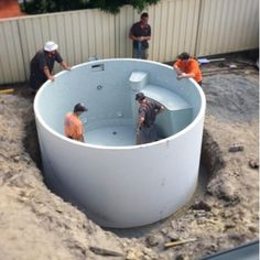 Outdoors Discover This type of %%KEYWORD%% is seriously a magnificent design philosophy. Deepest Swimming Pool, Small Swimming Pools, Small Backyard Pools, Backyard Pool Designs, Small Pools, Swimming Pool Designs, Pool Landscaping, Outdoor Pool, Round Pool
