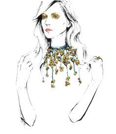 Fashion illustration. Part 5. on Behance
