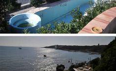Giardino con piscina a Castiglioncello: prima e dopo il mio intervento.