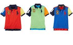 NWT Ralph Lauren Little Boys Colorblocked Polo Shirt #RalphLauren #Everyday