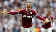 Jack Grealish of Aston Villa celebrates at the full time whistle after his teams victory during the Sky Bet Championship Playoff Final match between. Neymar Barcelona, Jack Grealish, Aston Villa Fc, England International, Derby County, West Bromwich, Soccer League, Captain Jack