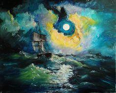 by sandrutowiec on DeviantArt Deviantart, Painting, Painting Art, Paintings, Painted Canvas, Drawings