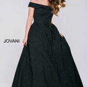 Stun the Crowd in Jovani Style 40555 Available at WhatchamaCallit Boutique