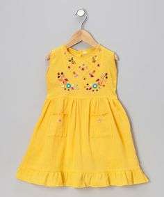 Take a look at this Mango Leonor Dress - Infant, Toddler & Girls by Little Cotton Dress on #zulily today!