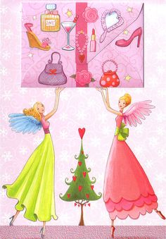 ♥ A wonderful christmas card, designed by Mila Marquis, with many cute little details.    ♥ With a little envolope in the front.    ♥ Comes