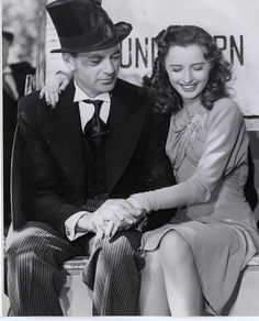 MEET JOHN DOE - Barbara Stanwyck and Gary Cooper - Directed by Frank Capra - Paramount - Publicity Still.