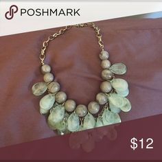Chunky necklace Blue/gray statement necklace Macy's Jewelry Necklaces