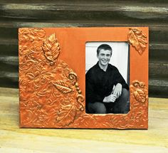 Ben Franklin Crafts and Frame Shop: Using Makin's Clay to Decorate a Picture Frame