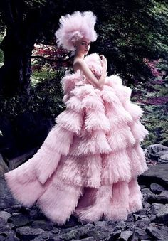 Haute Couture glamour featured