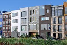 Architoop   Ontwerp Herenhuis familie Laddé , Zeeburgereiland. #natuurleien #leien #slate #leisteen #gevelbekleding