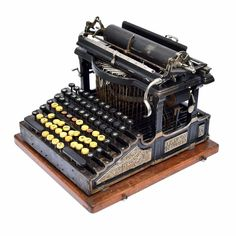 SMITH PREMIER No.1 TYPEWRITER Schreibmaschine Antique Máquina de Escrever 打字机