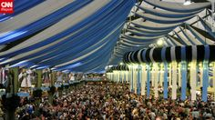 Germans and foreigners alike celebrate Oktoberfest in Munich. See more photos of the festivities at CNN iReport.