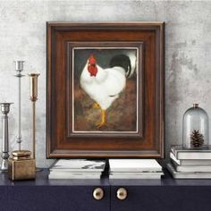 Witte Haan in Lijst To the Dutch artist Jan Mankes painting was a means to express the ineffable. Johannes Vermeer, Dutch Artists, Vincent Van Gogh, Handmade Wooden, Art Reproductions, Netherlands, Giclee Print, Rooster, Old Things