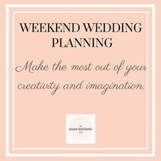 This week's #WeekendWeddingPlanning - Make the most out of your imagination and creative flaw during your wedding planning to make your dreams come to life! 💥💕💫 #wedding #theasianweddingguide #blog #blogger #weddingblog #indianwedding #bride #groom #theasianweddingguide #indianwedding #wedding #weddings #asianwedding #weddinginspiration #weddinginspo #weddingplanning #weddingplanner #bridetobe #engaged