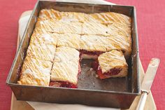Skip the line at the bakeshop and make these scrumptious PHILADELPHIA-Cherry Danish Dessert squares at home. Prep time: just 15 minutes.