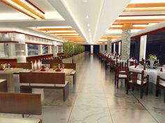 2015 Graduate Design_Yun Lin Shan Ju Resort Hotel Interior Design_Hill Top Restaurant_Front View