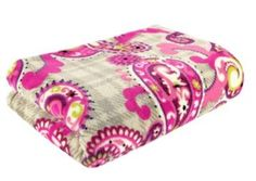 Vera Bradley soft fluff blanket...this is so awesome.