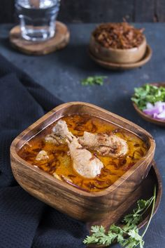 Murgh Rezala is a extremely delicious Bengali recipe with a Mughlai origin. It is made in a mild white gravy and have very delicate yet complex flavors. Veg Recipes, Curry Recipes, Cooking Recipes, Healthy Recipes, Drink Recipes, Indian Fish Recipes, Indian Snacks, Indian Foods