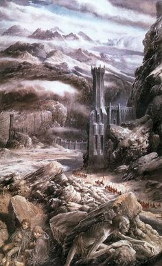 The Black Gate, called Morannon in Sindarin and Black Gate of Mordor was the gate of Udûn in northwestern Mordor and is the most fortified and direct entrance to the Black Land.