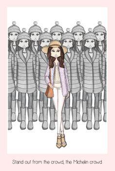 Fashion quotes illustration