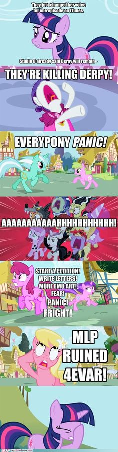 This was every ponies reaction