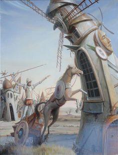 Don Quixote in the Land of Tomorrow  2015  -  Tomek Sętowski