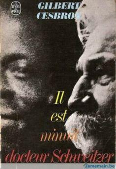 """""""Il est minuit Dr Schweitzer"""" de Gilbert CESBRON <3<3<3 PIÈCE DE THEATRE"""