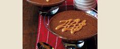 Mousse de Chocolate Amargo com Caramel Beurre Salé