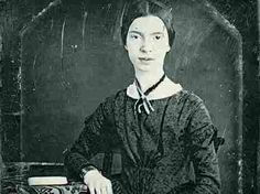 Emily Dickinson discussed  baking in many of her letters — evincing both her  trademark wit and a zest for  life that belies the common image of her  as a depressed figure.