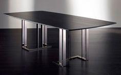 Meridiani Chaplin Rectangular Table