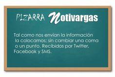 Pizarra Notivargas lunes 27 de junio 2016