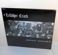 LEFTOVER CRACK mediocre generica LP Vinyl Record , SEALED , choking victim #punkPunkNewWave