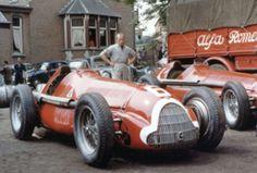 1951 Alfa Romeo 159 at Spa