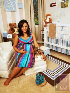 Tamera Mowry Shows Off Baby Nursery