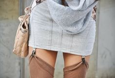 I'm gonna be really into thigh high stockings this Fall.